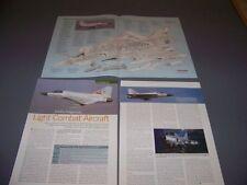 VINTAGE..LCA AIRCRAFT..SPECS/CUTAWAY/3-VIEWS.. (236C)