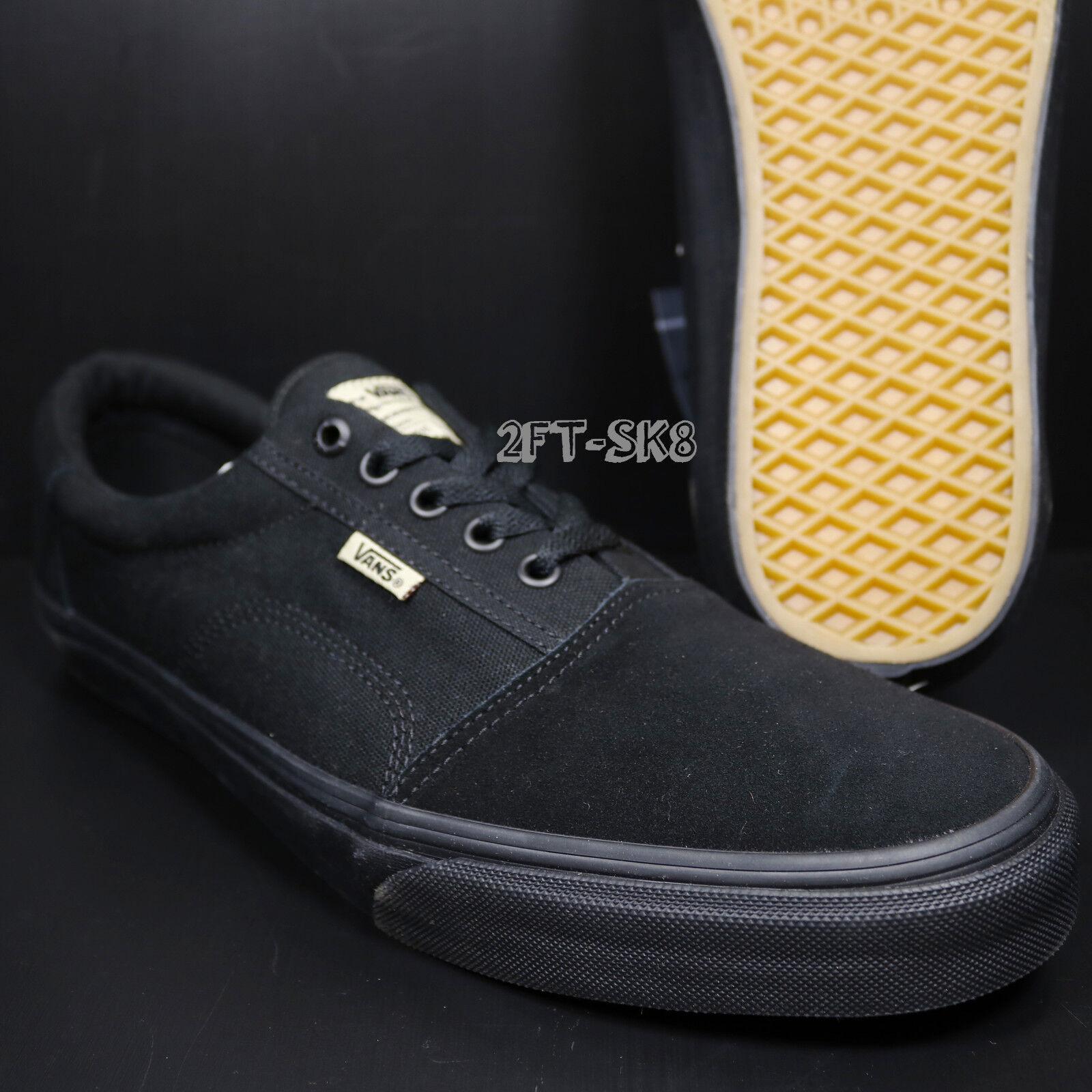 VANS ROWLEY SOLOS schwarz schwarz SOLE herren SKATE schuhe    S89142.234