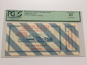 1964 Democratic National Convention Ticket
