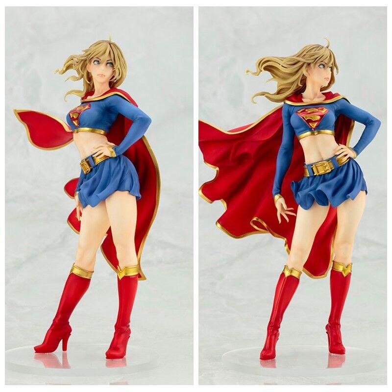 24cm dc comics statue supergirl liefert actionfigur spielzeug - sammlung