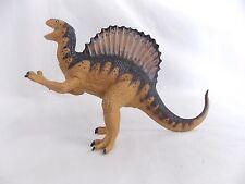 "Carnegie Safari Spinosaurus Dinosaur Toy Figure 1992 8"" Long Brown  #4601"