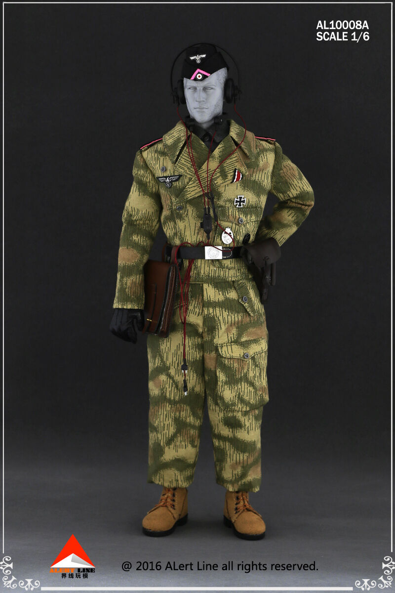 Alert Alert Alert Line 1 6 Scale Wehrmacht Tank Crew 1 Accessory Set AL10008A 6526c0