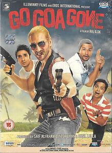 GO GOA GONE - SAIF ALI KHAN - NEW BOLLYWOOD DVD - FREE UK  POST