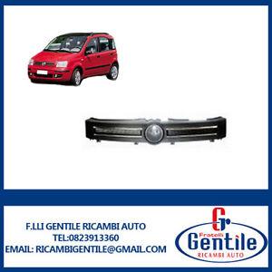 FIAT-PANDA-169-2003-2012-GRIGLIA-CENTRALE-ANTERIORE-PARAURTI-Dynamic-Emotion