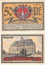 Germany 50 Pfennig 1920-21 Notgeld Wittenberge UNC Uncirculated Banknote