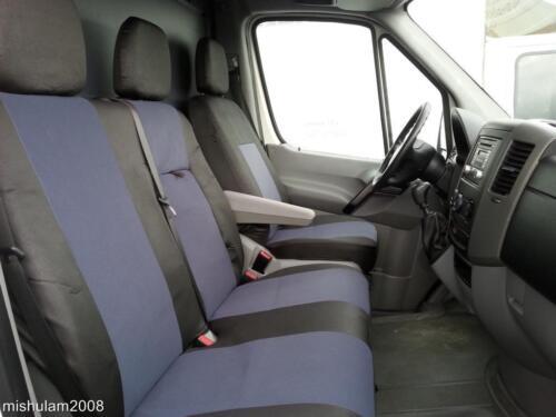 schwarz Sitzbezüge Schonbezüge  2+1 für MERCEDES SPRINTER  W906 2006 grau