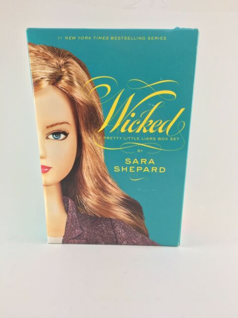 Pretty Little Liars Box Set : Wicked by Sara Shepard (2009) - Great Condition