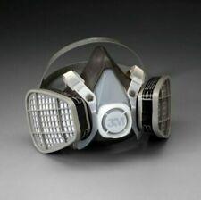 3m 5301 Half Facepiece Respirator With Organic Vapor Cartridge Size Large