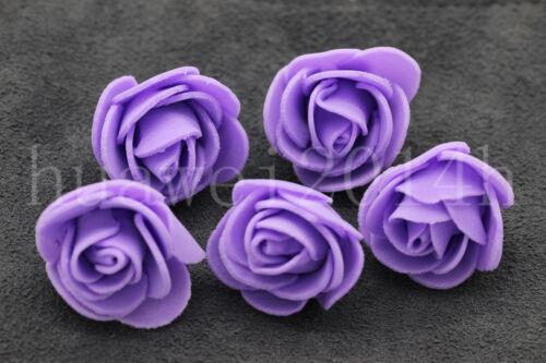 12//100 Foam Flower Home Wedding Party Car Decoration Craft DIY Wedding Flower