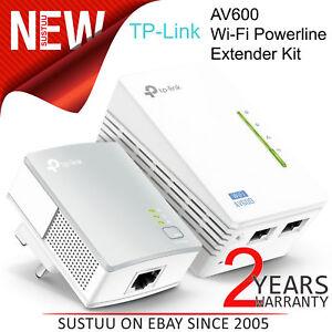 Candide Tp-link 300mbps Av600 Wi-fi Ligne De Courant Extendeur Kit │ Tl-wpa4220kit V1.20