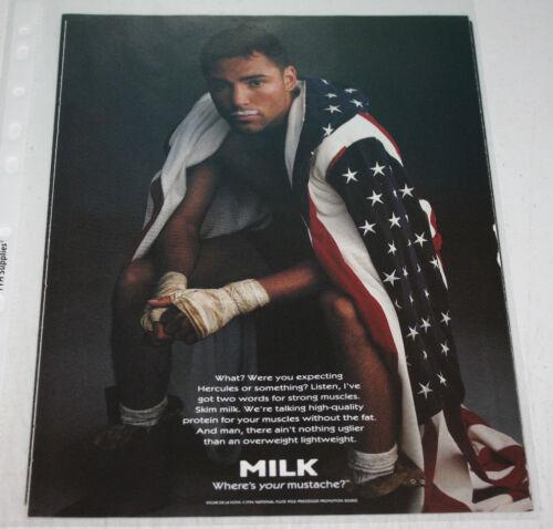 Vintage Got Milk Mustache Advertising Print AdYou Pick