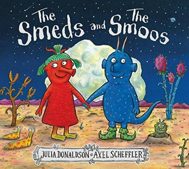 The Smeds And The Smoos: 1 By Julia Donaldson New Paperback