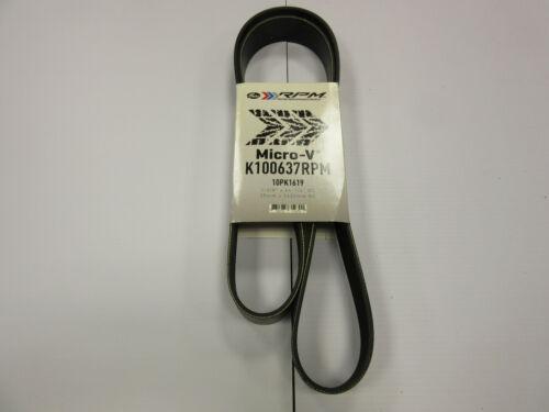 Gates RPM Serpentine Belt K100637RPM