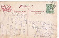 Genealogy Postcard - Family History - Robinson - Nuneaton  S61