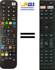 Telecomando gia' programmato per TV ZEPHIR SMART