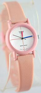 Casio-LQ-11W-4-Ladies-Vintage-1990s-Analog-Watch-Pink-Classic-Tech-Design-New