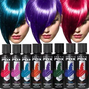 arctic fox 100 vegan semi permanent hair dye hair color
