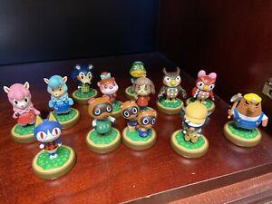 Animal Crossing 13 amiibo Lot Figure Figurine Nintendo ...