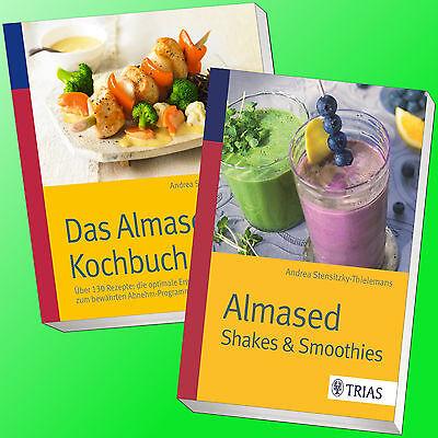 im SET: ALMASED | DAS KOCHBUCH + SHAKES & SMOOTHIES | Abnehmen Diät (Buch)