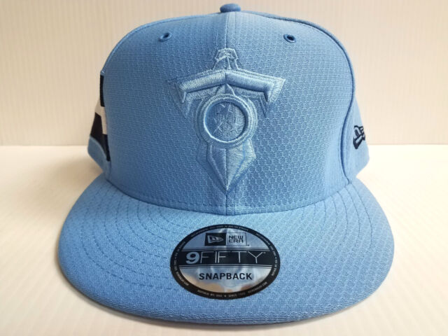 169c11083bd Tennessee Titans Cap New Era 9Fifty Snapback 2018 Color Rush Sideline Hat