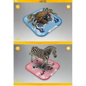 Pocket-Zoo-96-Kinds-3D-Animals-Cards-AR-Stereo-Bilingual-Children-Education
