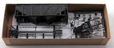ACCURAIL HO SCALE 55 TON WOOD SIDE TWIN HOPPER UNDECORATED NIB 2700