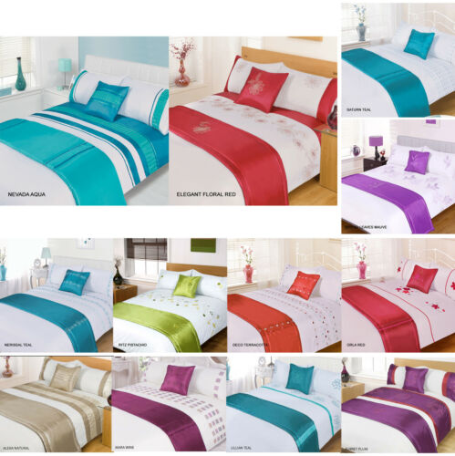5pc Bed in a Bag Bedding Duvet Quilt Cover Set NEW Designs Double /& King Size