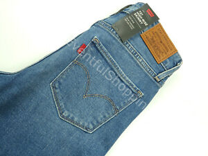 Levis-721-Premium-High-Rise-Ripped-Skinny-Jeans-Rugged-Indigo-Pick-Size