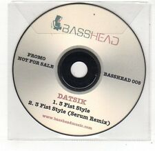 (FE559) Datsik, 3 Fist Style - DJ CD