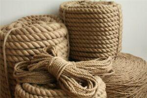 Natural-Craft-Rope-Jute-Boat-String-Chord-Twisted-Hemp-Decking