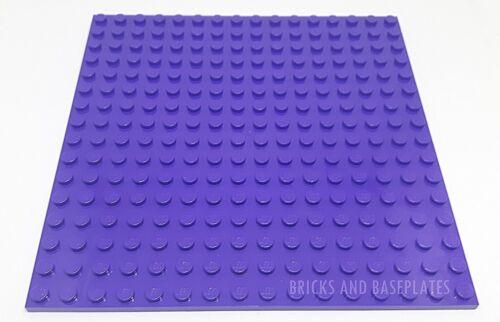 LEGO 1 X Purple Plate Base Board 16x16 Broche 12.8 cm x 12.8 cm x 0.5 cm-BRAND NEW