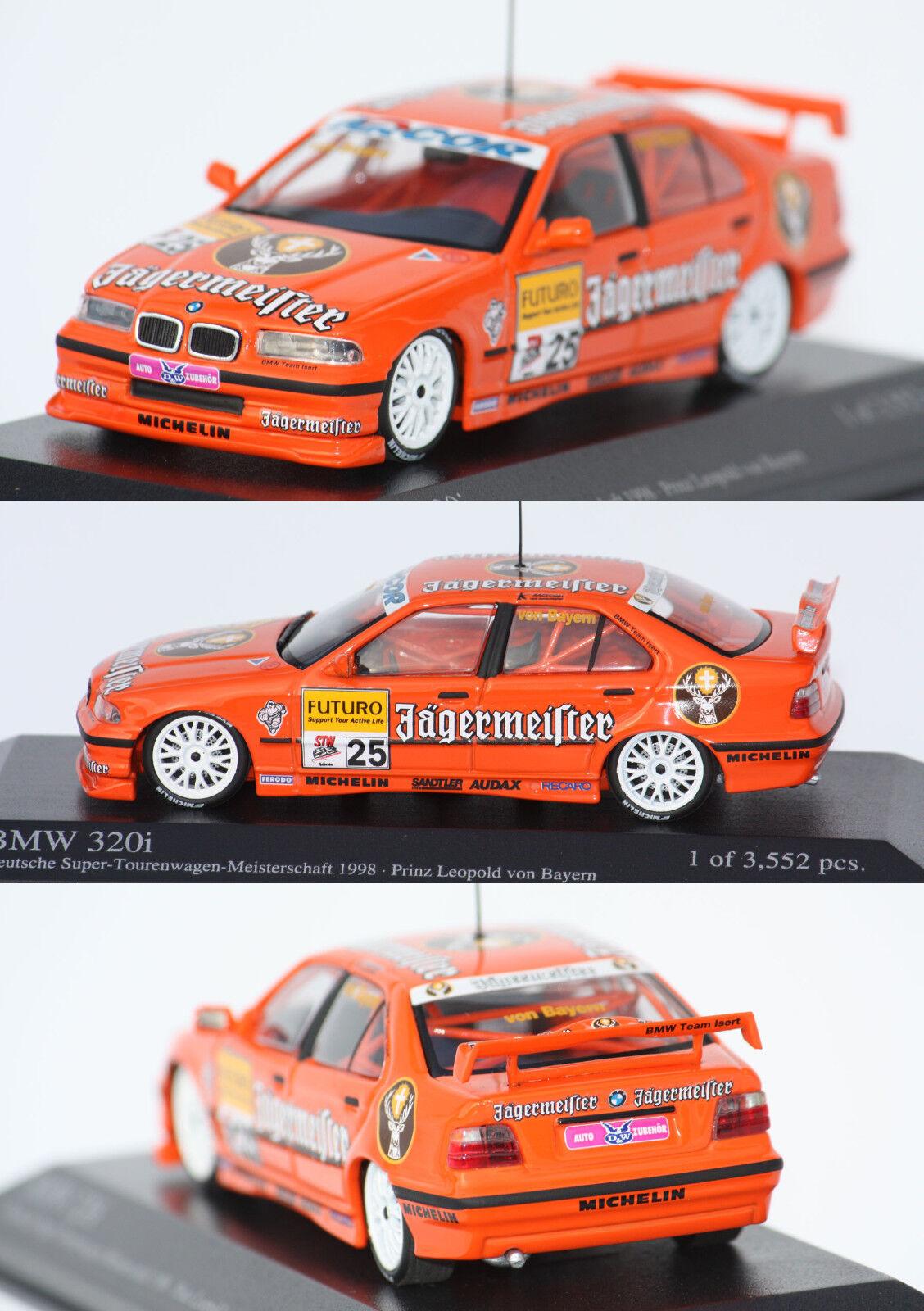 Minichamps BMW BMW BMW 320i STW 1998 1 43 430982625 33e161