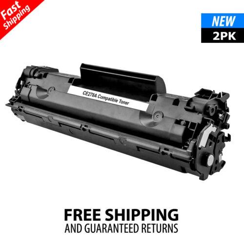 2PK CE278A 78A Toner Compatible for HP LaserJet Pro P1606dn P1606 M1536dnf