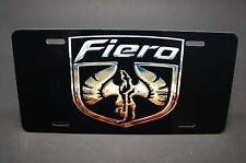 FIERO LICENSE PLATE TAG FOR CARS METAL ALUMINUM PONTIAC FIERO