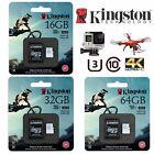 SD Card Extreme Pro 32GB 64GB 16GB Kingston Micro SD GoPro Action Dash Camera 4K