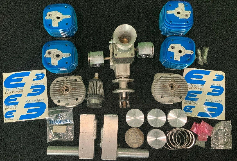 Evolution Twin Engine di massa modellolo Aircraft motor RC aereo