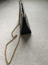 Salvatore Ferragamo Vintage Cross Body Black Leather Handbag