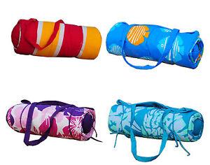 Beach-Gear-Combo-Set-Sunbath-Mat-Neck-Pillow-Gift-Ideals-NEW-Multi-Styles