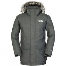 SALE NEW The North Face Men's Winter Parka MCMurdo TNF Drk Grey Size XL RRP £350