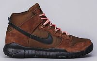 Nike SB Dunk High Men's Boot (Black / Brown)