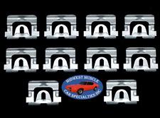 68 92 Gm Chevy Buick Pontiac Windshield Window Moulding Molding Trim Clips 10p O Fits 1964 Skylark