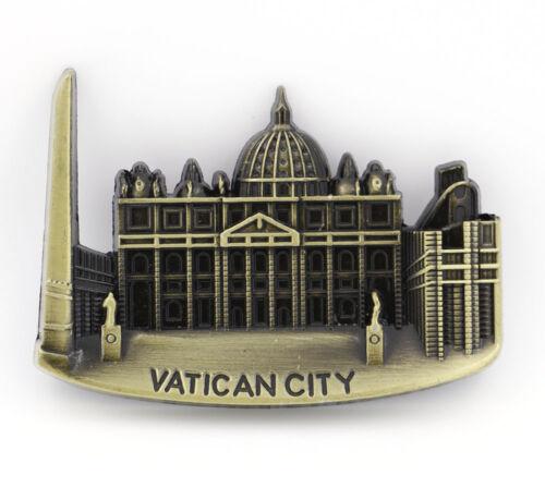 "3D Metal Fridge Magnet /""Vactican City/"" Souvenir Gift Collectibles Brand New"