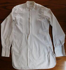 Horaces-Marcella-Tunica-Camisa-14-5-para-hombre-de-vestir-ropa-vintage-1920s-sin-cuello-2