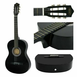 Acoustic-Guitar-Full-Size-38-034-Adult-or-Child-Black-Guitar-Pick-amp-Accessories