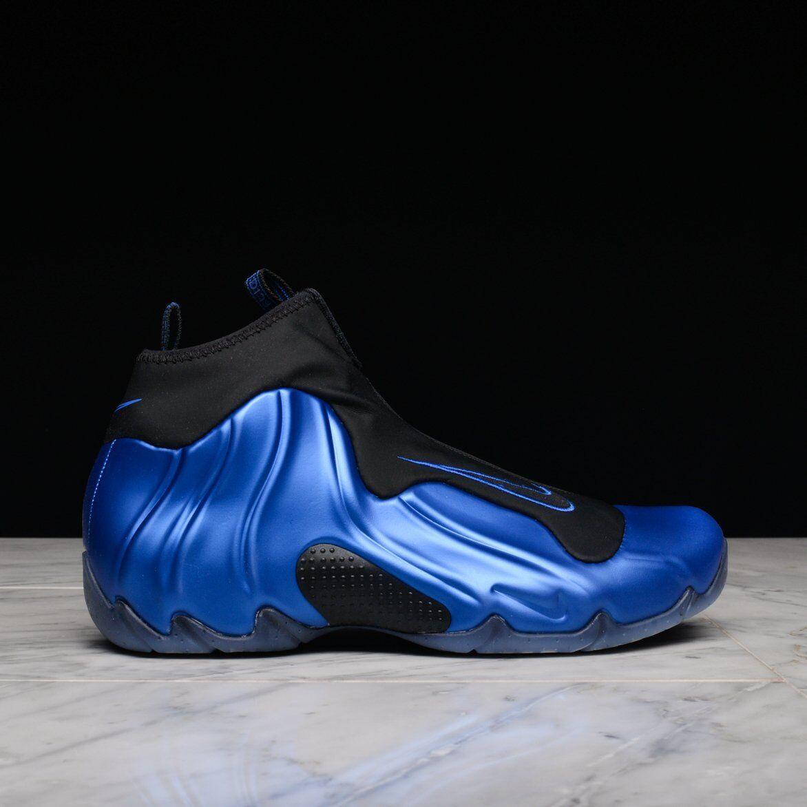 NlKE Air Flightposite Dark Neon Royal bluee Penny Foamposite Garnett sz 9.5 shoes
