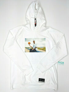 buy online 56ae9 3130e Details about Nike Air Jordan He Got Spiel Hoodie Herren Weiß Pullover  Basketball AV6352-100
