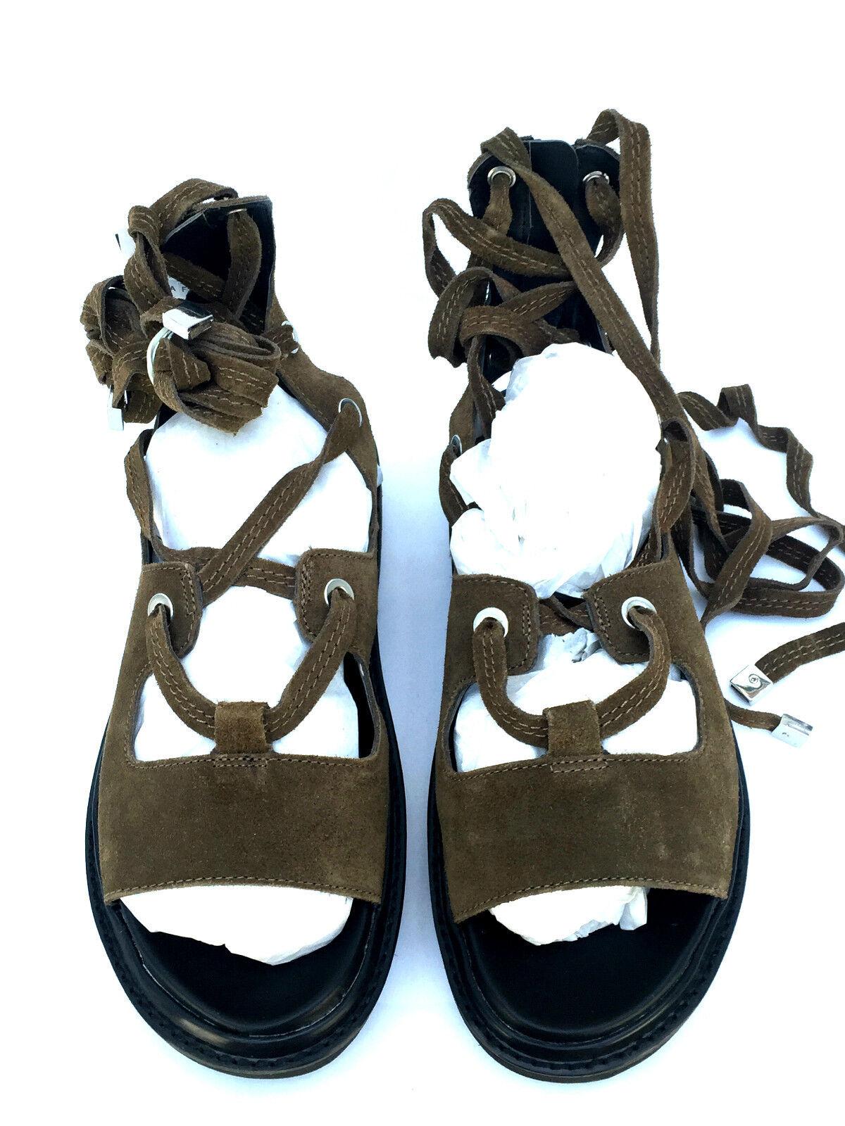 Zara Gladiatore Pelle Gladiatore Zara Con Cinturini Sandali Misure 88cbe0