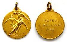 Medaglia Sportiva Calcio Argento 800 Dorato Trofeo I. Bellino 1959