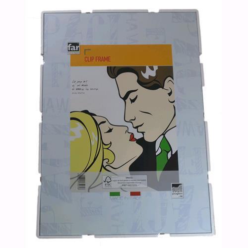 Cornice a Giorno 30X40 Lastra in Crilex supporto in cartone pressato per Poster