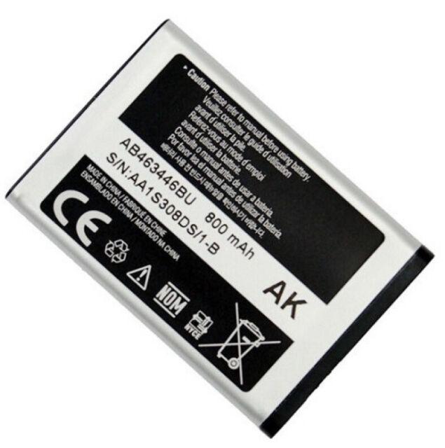 Battery fits Samsung AB463446BA T249 Contour R250 T255g T259 R100 A107 A137